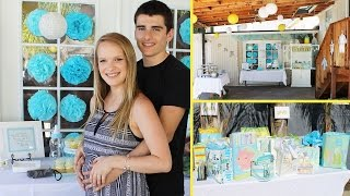 BABY SHOWER VLOG!   August 6, 2015-August 12, 2015