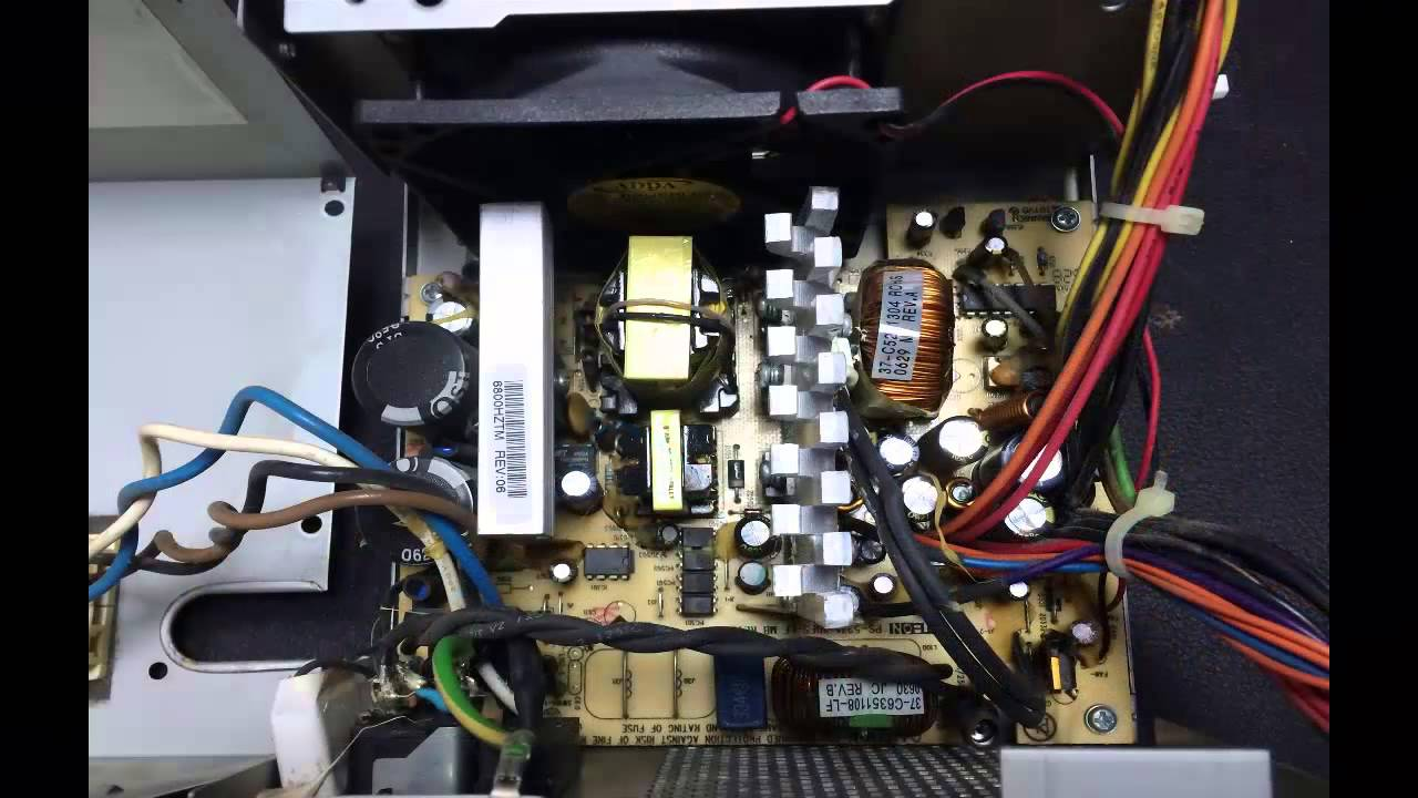 How To Repair Dell L230p 230watts Power Supply Unit  24
