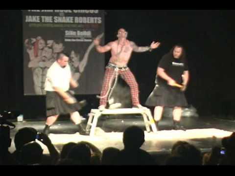 Jim Rose Circus vs. Jake the Snake! Seattle show!