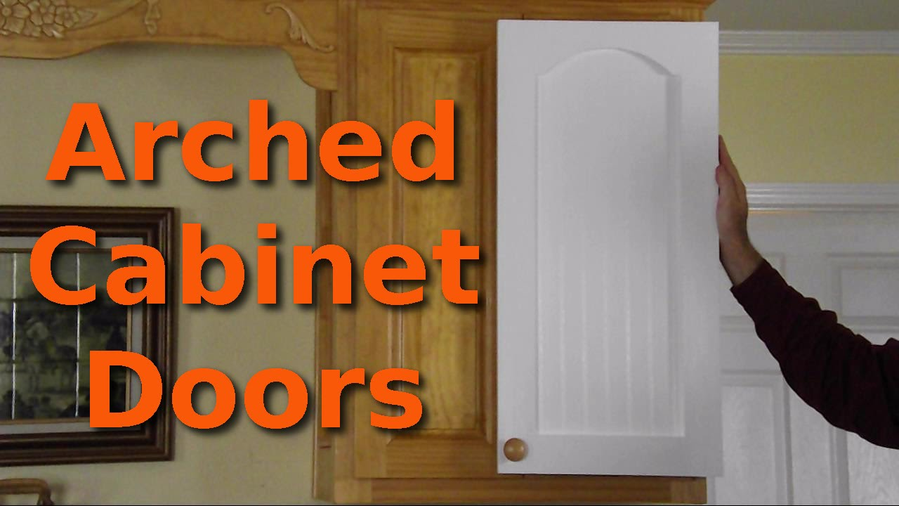 Making 10 Arched Cabinet Doors Youtube