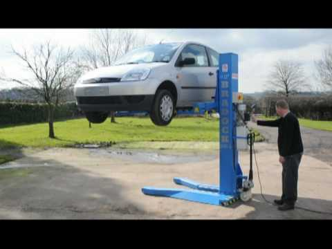 Bradock 5 series portable car lift