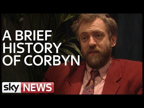 A Brief History of Labour Leader Jeremy Corbyn