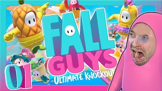 🔴 FALL GUYS: ULTIMATE KNOCKOUT #1: Neues Battle Royale Rage-Projekt im Takeshi's Castle Style