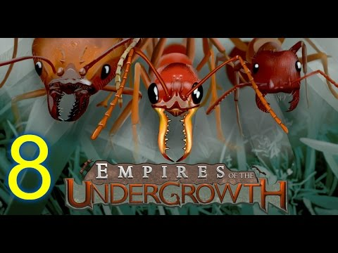 EMPIRES OF THE UNDERGROWTH (HD) [Subshouts] --8 (Ant Colony Simulator)-- ANTS FROM ALL SIDES!!
