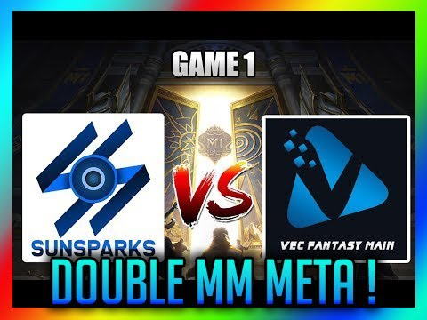 SUNSPARK VS VFM - GAME 1, DOUBLE MM META !!!