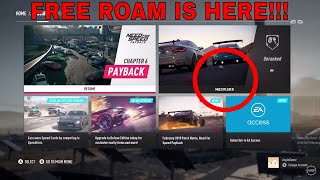 FREE ROAM NEED FOR SPEED PAYBACK HUGE UPDATE