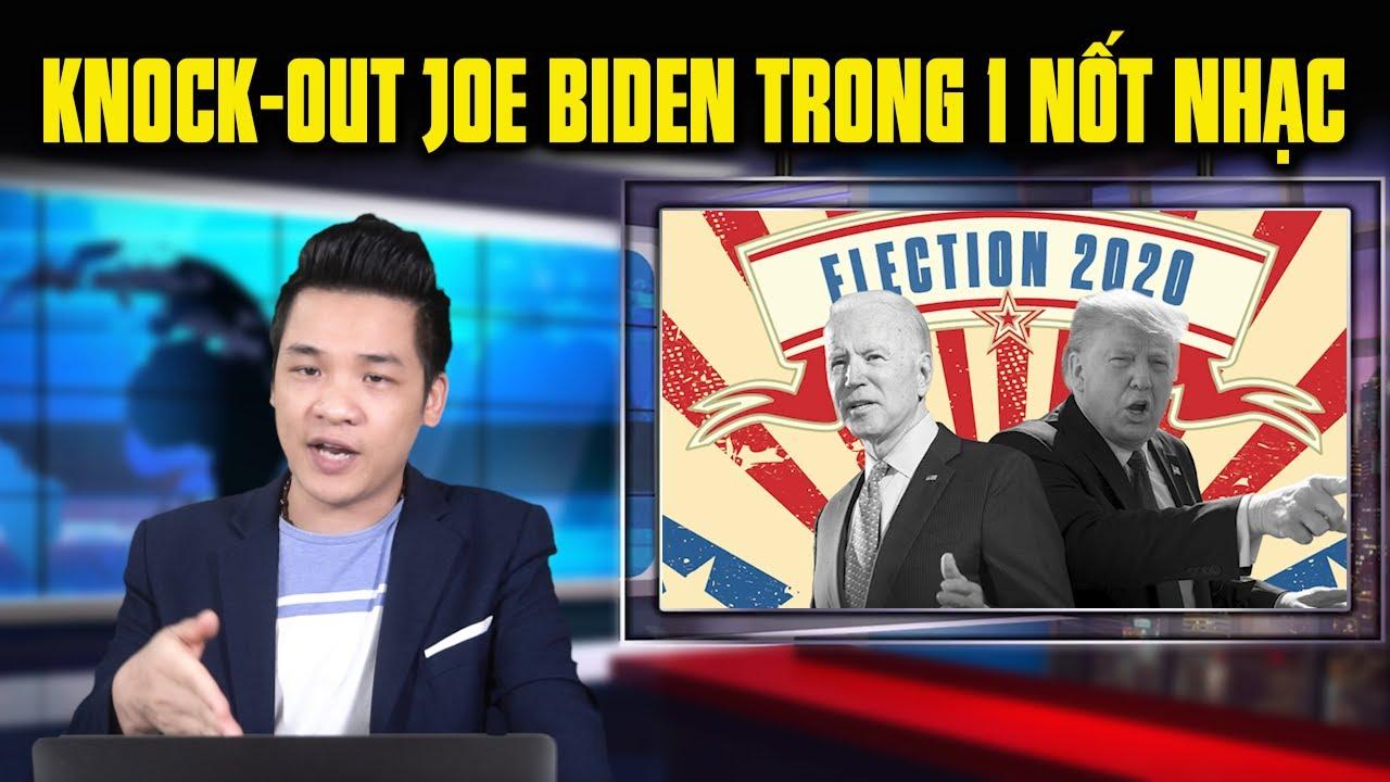 Nước cờ bí hiểm giúp TT Donald Trump knock-out Joe Biden ở phút 89