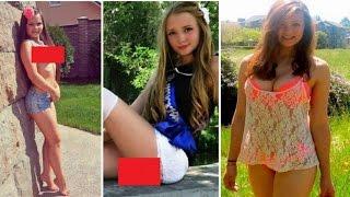 Вот так теперь выглядят школьницы, которым по 13–14 лет. Куда смотрят их родители ?...?
