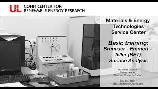 MET Basic Training: BET Surface Analysis