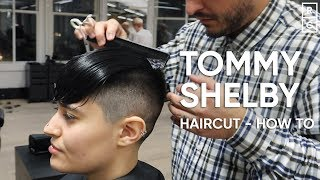 Tommy Shelby Cillian Murphy Peaky Blinders Haircut