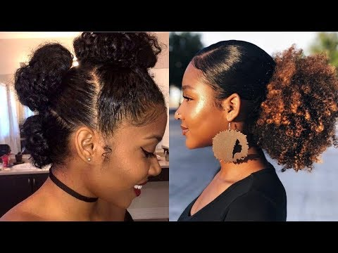 cute-natural-hairstyles-to-try-now-2019-|-styling-natural-hair-compilation
