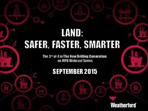 Land: Safer, Faster, Smarter | MPD series webcast 3 of 4
