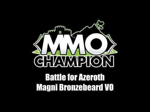 Patch 8.1.5 - Magni Bronzebeard VO