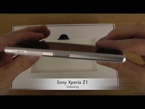 Sony Xperia Z1 - Unboxing