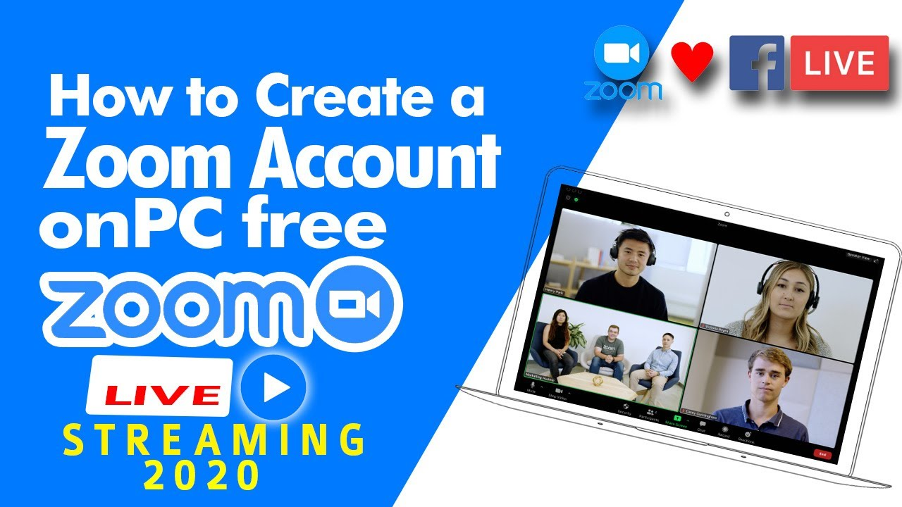How to create a Zoom Account on PC Free for live stream (In Garo)