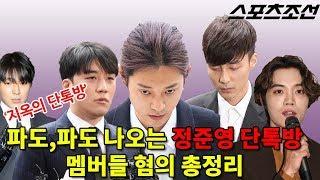 파도,파도 나오는 '정준영 단톡방' 멤버들 혐의 총 정리