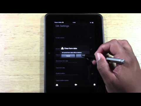 Kindle Fire HD: How to Clear Your Web History | H2TechVideos from YouTube · Duration:  2 minutes 35 seconds
