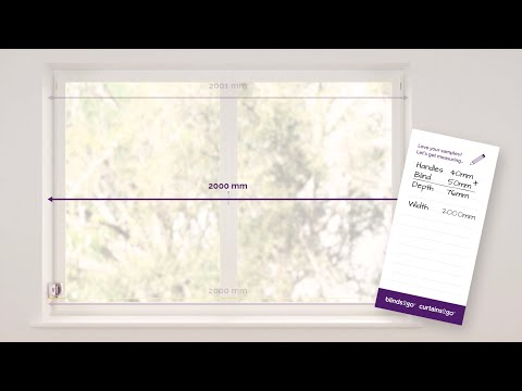 Blinds2Go - Inside Recess Measuring Guide