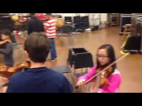 YSO Strolling Strings prepare for upcoming YSO benefit