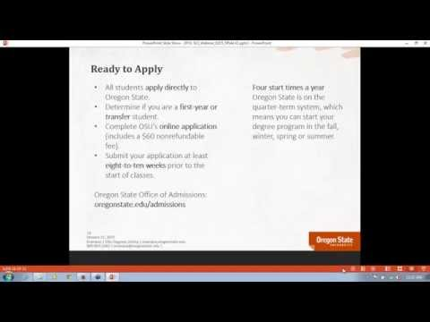 Online universities Oregon State University 2015
