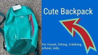 Review of Quechua ARPENAZ 10 L DAY HIKING BACKPACK