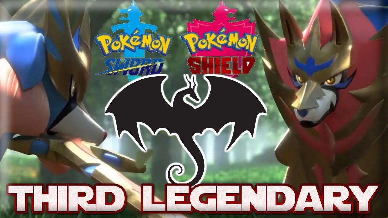 Pokemon Sword And Shield Third Legendary Lore Youtube