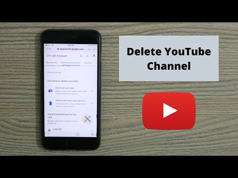How to Delete Your YouTube Channel on iPhone 2020 from YouTube · Duration:  2 minutes 32 seconds