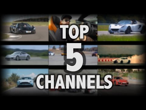 My Top 5 Automotive Youtube Channels!