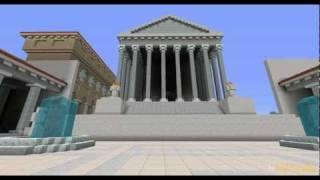 Temple of Venus Genetrix in Minecraft  26022012