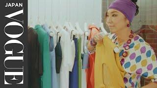 松任谷由実、『時のないホテル』で着用のセットアップをスポーツミックス! | Yuming's FASHION Adventure | VOGUE JAPAN