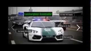 Super Police Cars  in Dubai [ SPECIAL UNIT ]