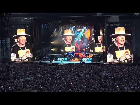 Guns N' Roses – Sweet Child O' Mine – Tallinn 16.7.2018