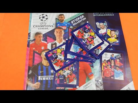 STARTER PACK Champions League Topps 2018-19