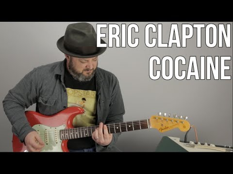 "How to Play ""Cocaine"" by Eric Clapton (JJ Cale) On Guitar"