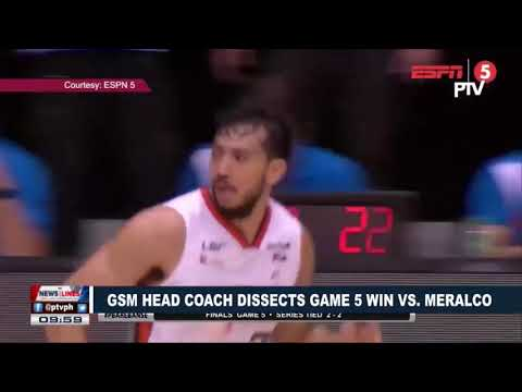 SPORTS NEWS: GSM head coach dissects game 5 win vs MERALCO
