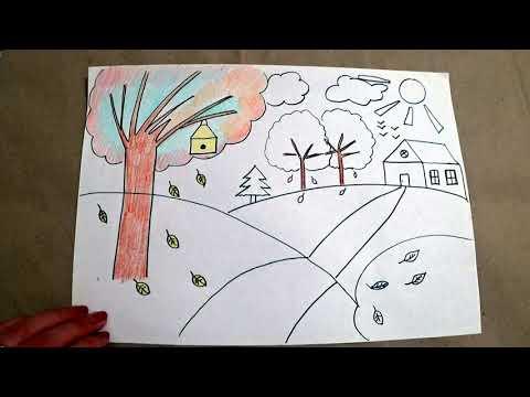 Видеоуроки рисования 2 класс