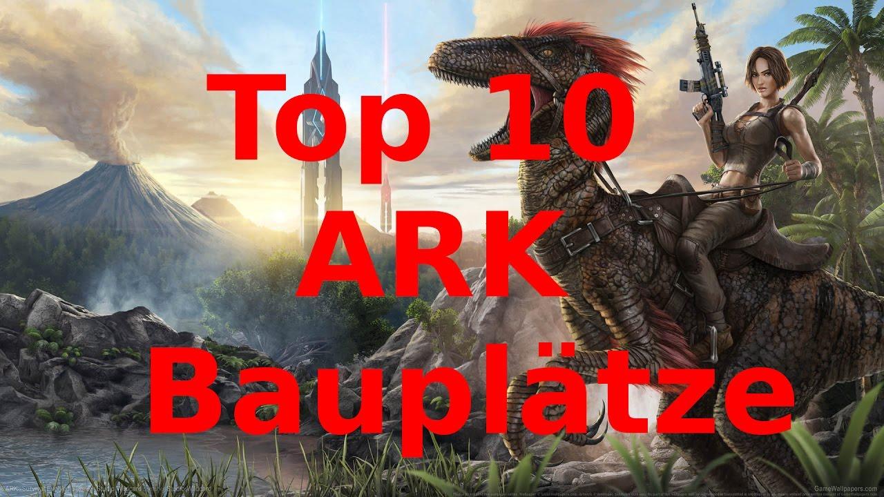 TOP 10 Besten ARK Bauplätze - The Island