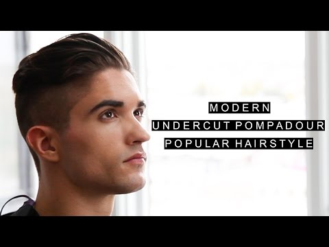 Modern Undercut Pompadour | Popular Hair For Men | Cool Hairstyle | Free FLUX Giveaway (DESC)