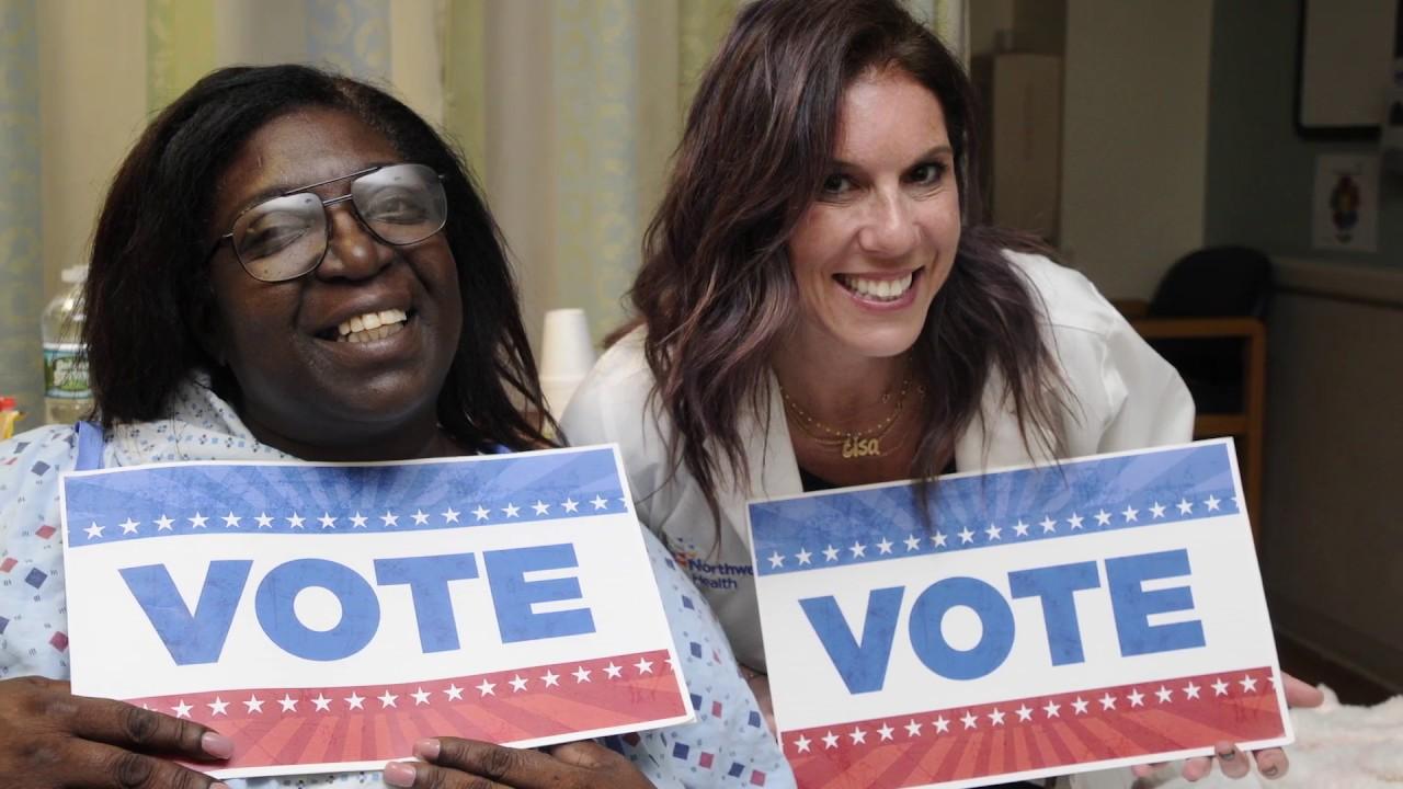Lenox Hill nurses launch get out the vote campaign