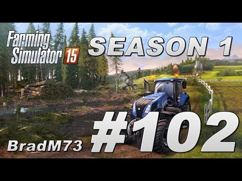 Farming Simulator 15 - Season 1 - Episode 102 - The big selloff!!