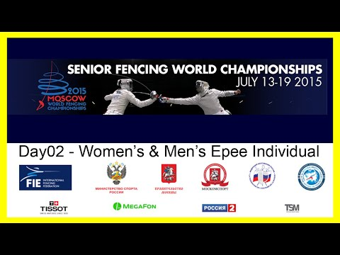 Senior Fencing World Championships Moscow 2015 - DE Day02