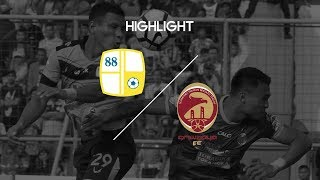 Cuplikan Pertandingan Liga 1 Barito Putera vs Sriwijaya FC 10 September 2017