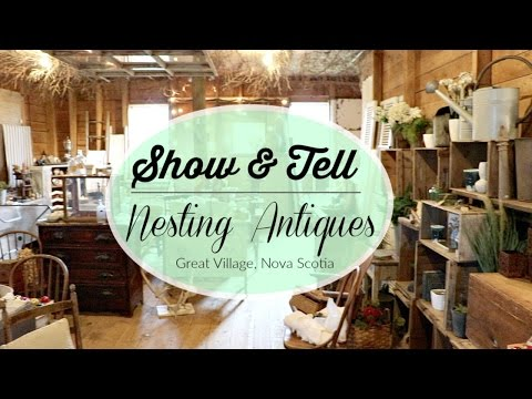 Show & Tell | Great Village: Nesting Antiques