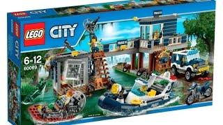 60069 Lego Swamp Police Station City Police