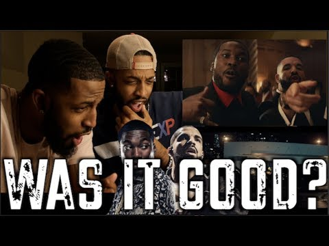 MEEK MILL (FEAT. DRAKE) - GOING BAD OFFICIAL MUSIC VIDEO | REVIEW AND REACTION | #MALLORYBROS 4K