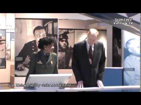 Alabama Sen. Richard Shelby visits Tuskegee