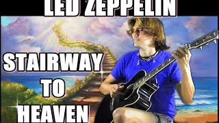 Led Zeppelin - STAIRWAY TO HEAVEN (ACOUSTIC LESSON Guitar - TAB FREE) FINGERSTYLE HOW TO PLAY