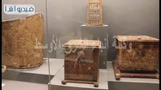 الفيديو. شاهد مقتنيات المتحف القومي للحضارة المصرية