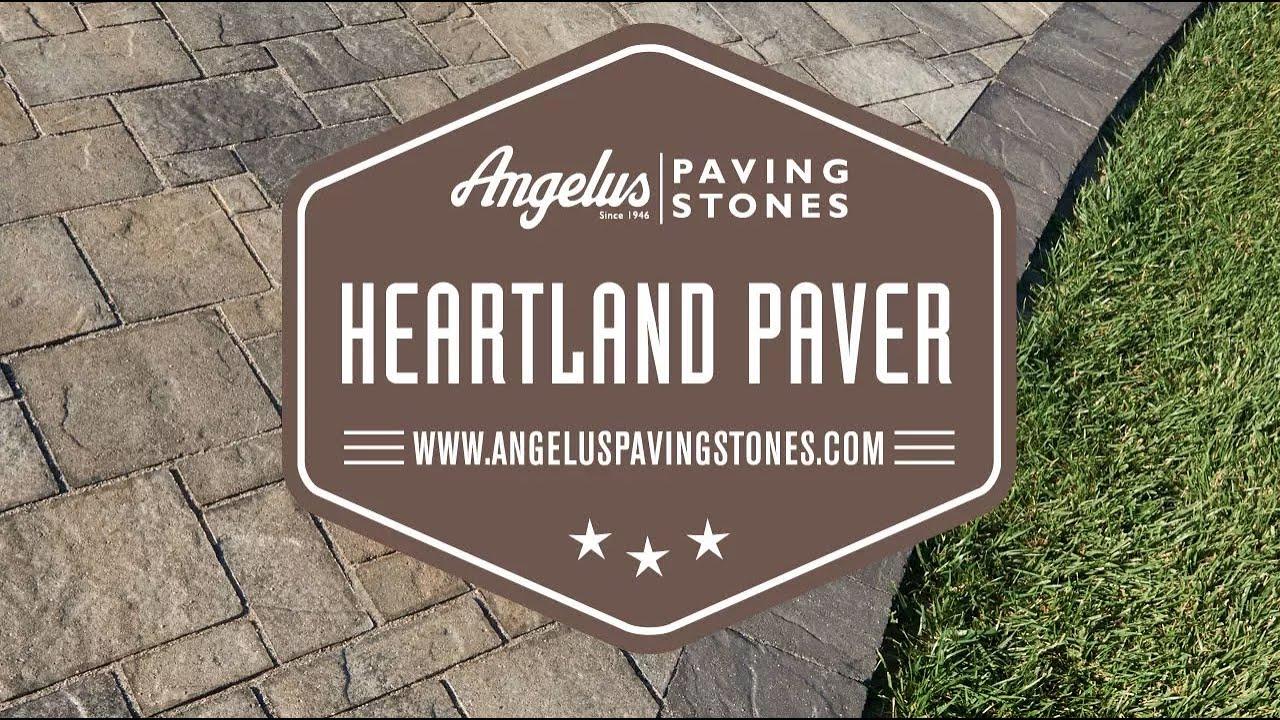 Angelus Heartland Paver Youtube