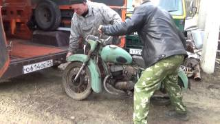У нас ещё одна мототехника мотоцикл К 175.